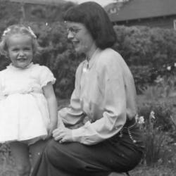 Margaret Avison listening