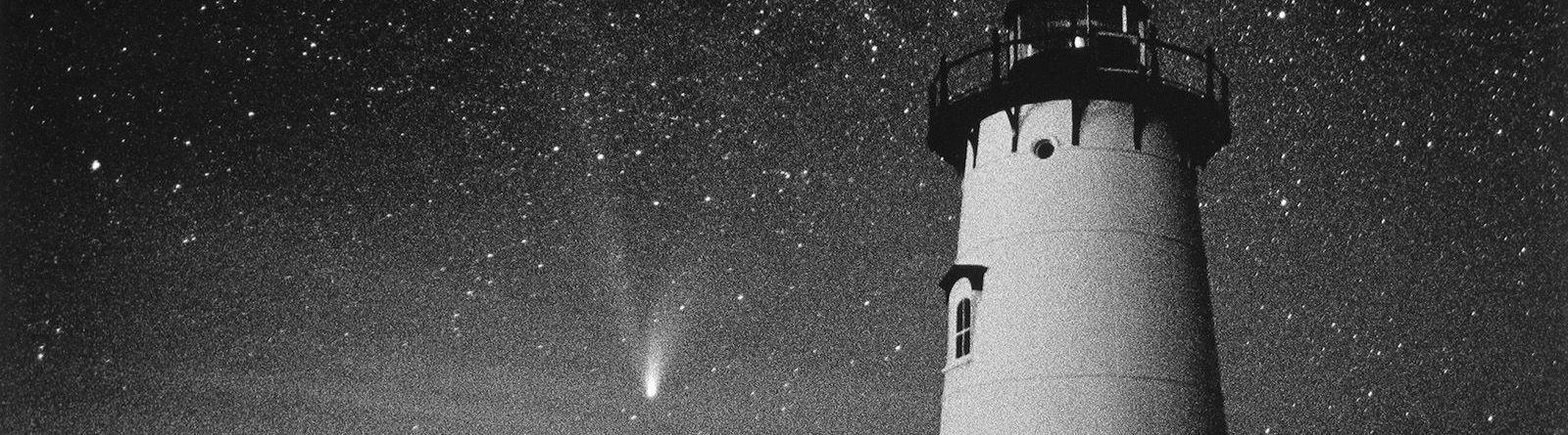 Just next to Spencer, Edgartown Comet Hale Bopp, Edgartown, MA, 1997.