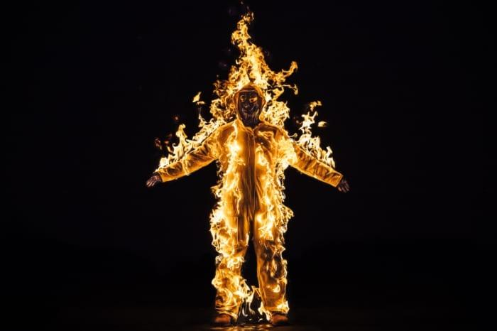 2 Inextinguishable Fire, Burn for Portrait